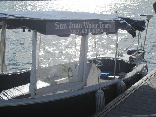 San Juan Water Tours : The boat