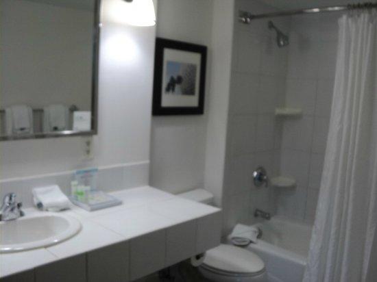 Four Points by Sheraton Orlando Studio City Hotel: Banheiro limpíssimo e amenities de boa qualidade