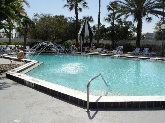 Four Points by Sheraton Orlando Studio City Hotel: Não deu tempo de usufruir, mas parecia muito convidativa