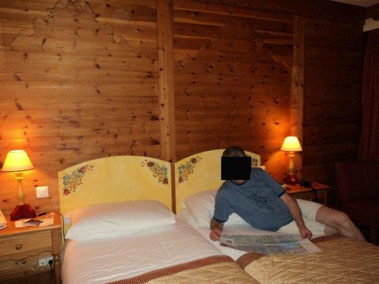Hotel Edelweiss - Manotel Geneva: Интерьер 2-х местного номера