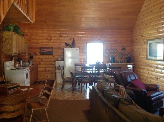 A to Z Guest Ranch: beautiful Moose Lodge