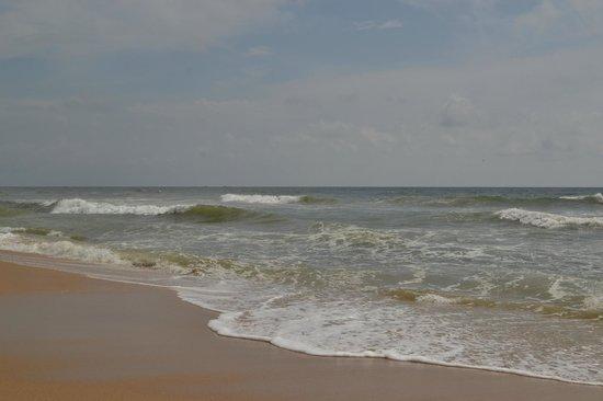 Varkala SeaShore Beach Resort: The beach