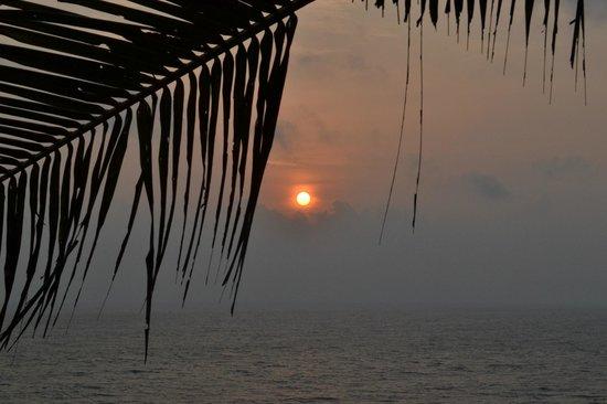 Varkala SeaShore Beach Resort: Sea view