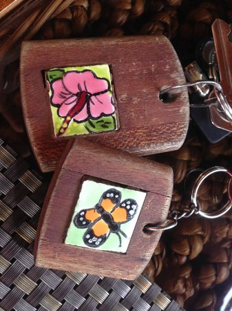 Physis Caribbean Bed & Breakfast: Keychains