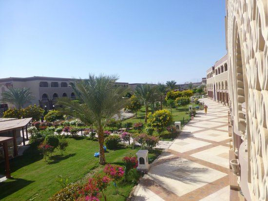 SENTIDO Mamlouk Palace Resort : Jardins