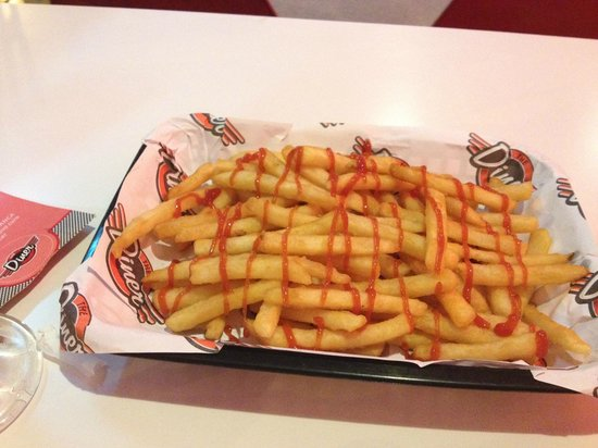 The Diner: Basket of French Fries