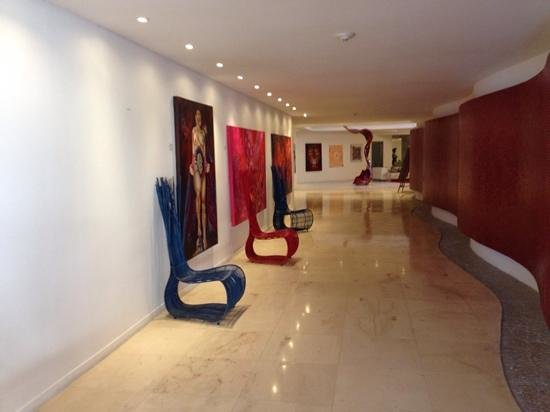 In Fashion Hotel Boutique: A bela entrada do hotel