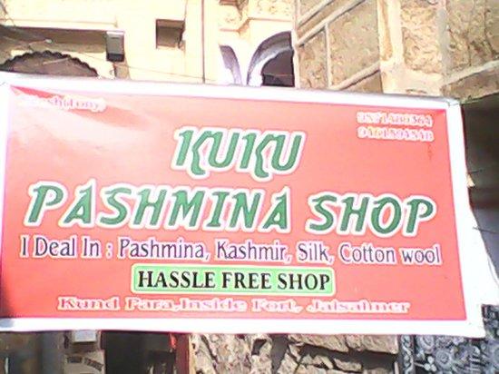 Kuku Pashmina Shop