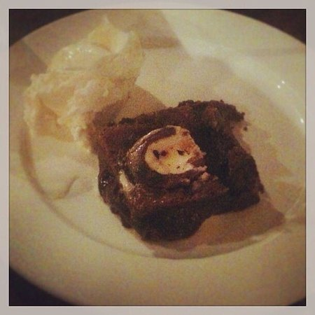 Four Bells Inn: I don't think anyone else managed to conquer these! Cream egg brownies AMAZING WELL DONE FOUR BE
