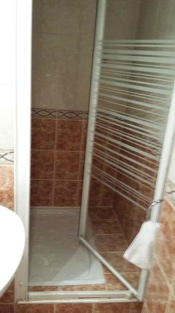 Hotel Audran: doccia