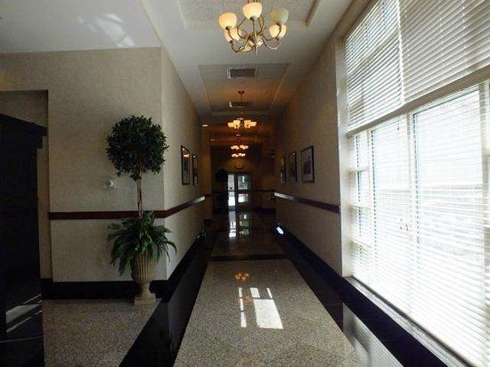 Drury Inn & Suites Greenville: Lobby Area Hallway