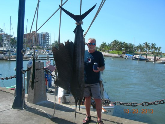El Cid Marina Beach Hotel : A great day fishing
