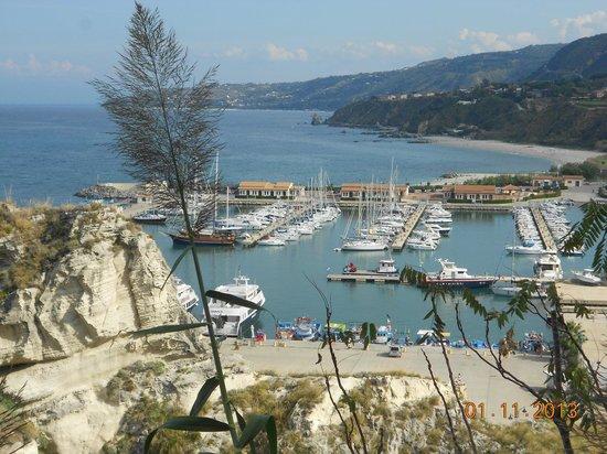 Rocca Nettuno Tropea: Der Hafen Tropea