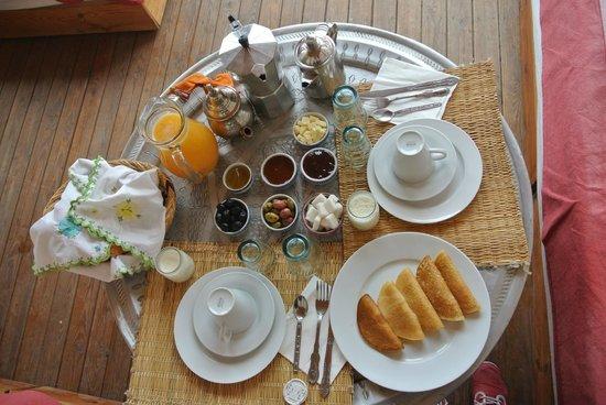 Riad Almoulouk : Morgenessen