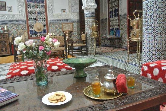 Riad Almoulouk: Innenhof