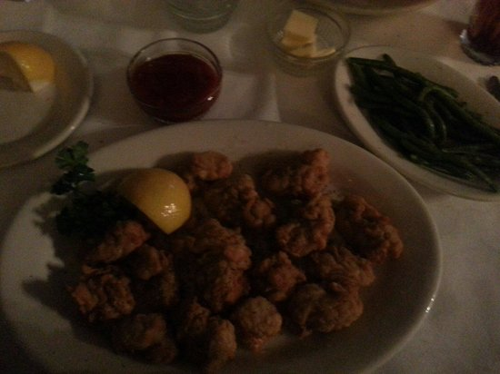 Mary Mahoney's Old French House: Fried Oysters. Absolutely amazing