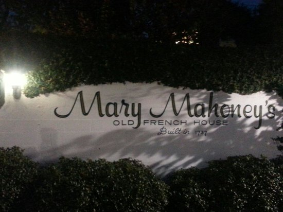 Mary Mahoney's Old French House: Old French House is Charming
