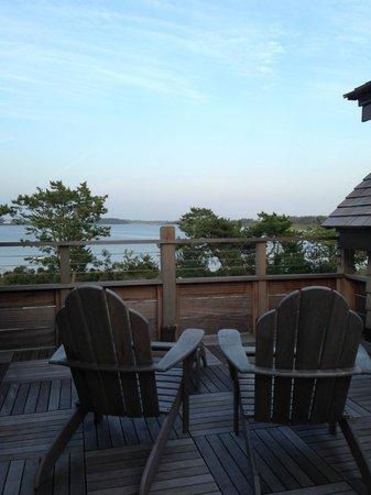 Weekapaug Inn: View from Fenway Suite 50