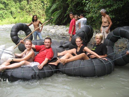 Sumatra Paradise Day Tours: Tubing - Bukit Lawang