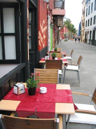 Restaurante Bodeguita La Reina: fachada c/mequinez