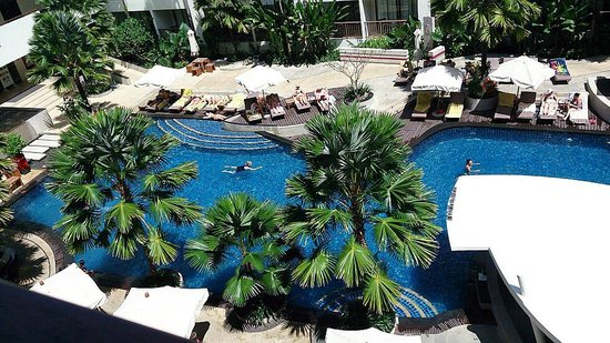 Deevana Plaza Phuket Patong: The view from first room...