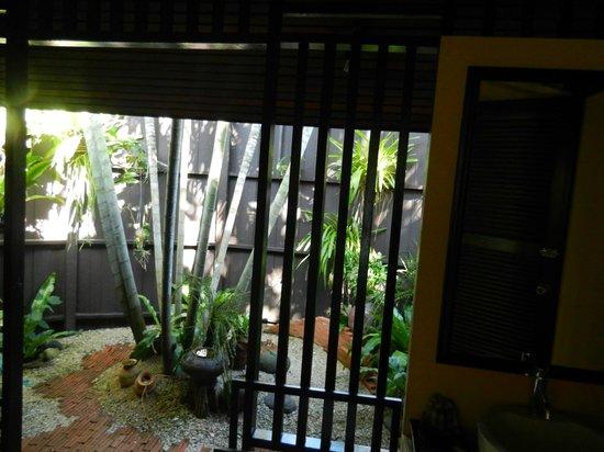 Shantaa Koh Kood: View from bathroom on private garden