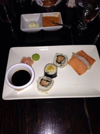 Keyonna Beach Resort Antigua : Cena con sushi