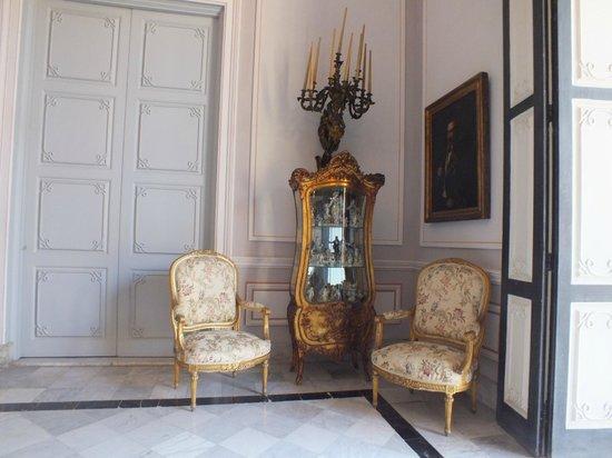 Palacio De Los Capitanes Generales: interieur musée