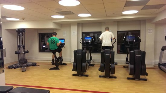 Sheraton Madison Hotel: All aerobic machines were new (as was everything else)