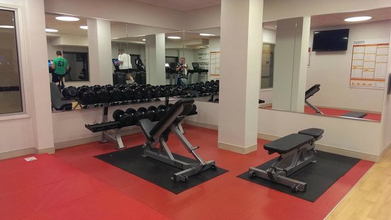 Sheraton Madison Hotel: The rest of the Fitness Center
