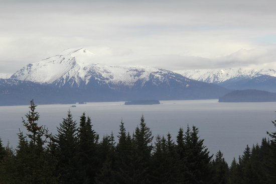 Highliner House: Kachemak Bay from our deck at the Whalesong