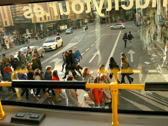 Madrid City Tours: From the upper deck