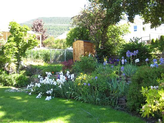 Bella Vista B&B: Garden view