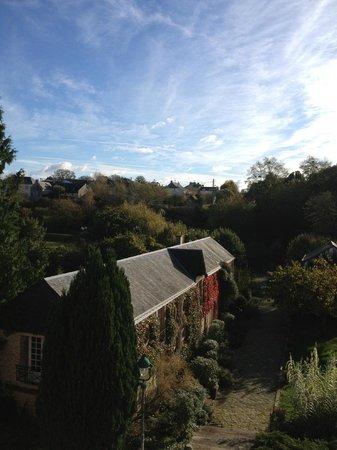 Hotel Restaurant Ricordeau : Vue jardin