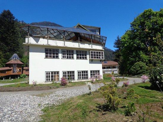 Hotel Natura Patagonia: Hotel Peulla em obras