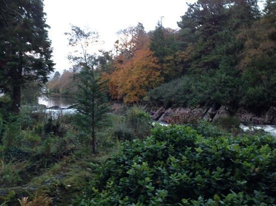 Sheen Falls Lodge: the Falls in November