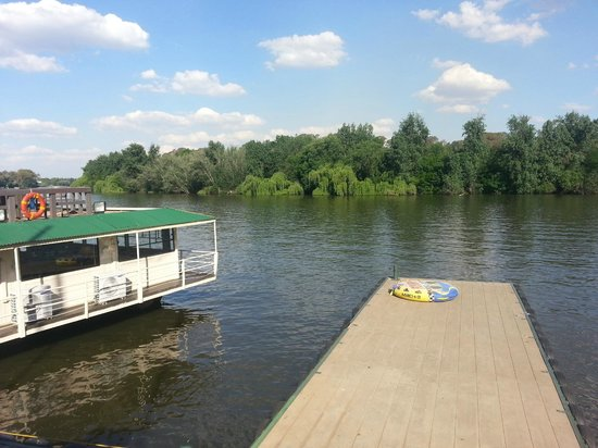 BON Hotel Riviera on Vaal: Restaurant on the Boat