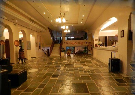 Hotel Europa Olympia : la hall