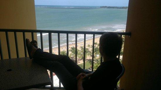Courtyard by Marriott Isla Verde Beach Resort: вид из номера