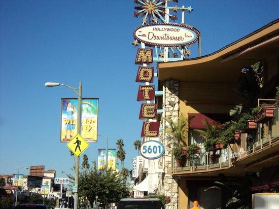 Hollywood Downtowner Inn: Frente do Hotel