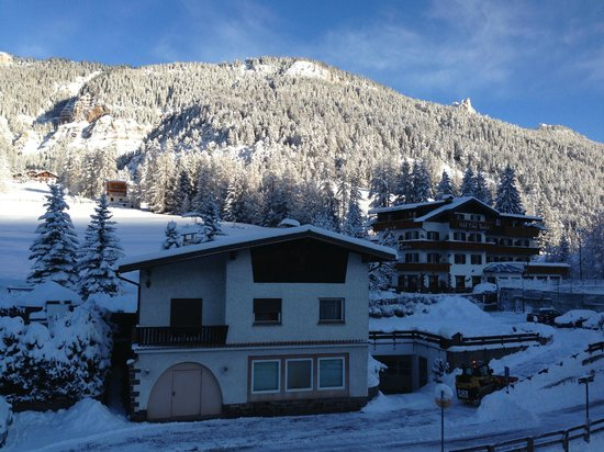 Hotel Park Dolasilla: Вид с балкона