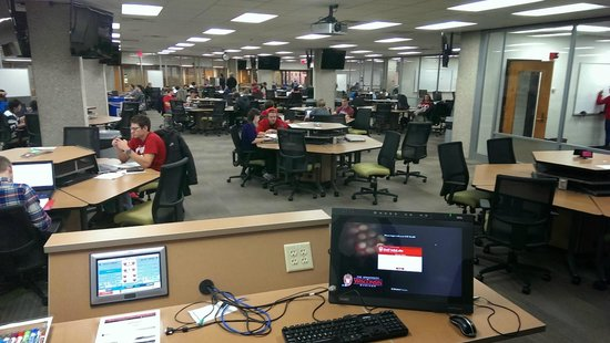 University of Wisconsin - Madison: WisCEL (in Wendt) is a great high-tech learning space