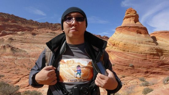 The Wave at Coyote Buttes: I hike The Wave