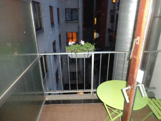 NH Brussels Grand Place Arenberg: balcone privato