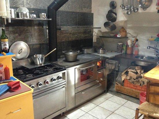 Grotto La Ginestra da Ghilardi: La cucina