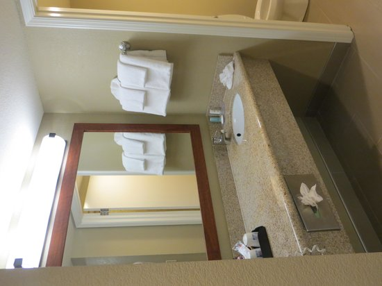 Comfort Inn Morro Bay: Clean Bathroom