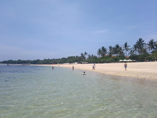 Nusa Dua Beach Hotel & Spa: Beautiful beach