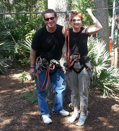 Treetop Trek: Great time!