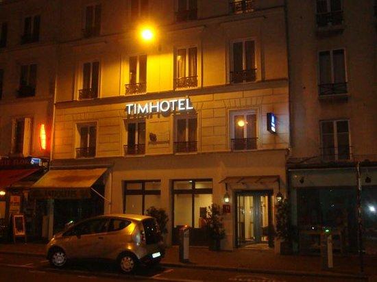 Timhotel Le Louvre : Tim hotel la nuit