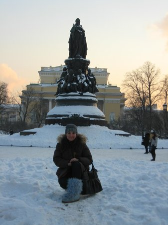 Monument to Catherine the Great: Я